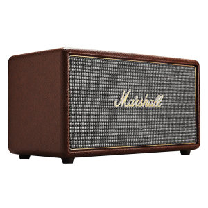 The Marshall Stanmore Bluetooth Speaker in brown may be small in size but it's sound is nothing short of large. With wireless bluetooth connectivity and a classic design - Stanmore is the ultimate stylish speaker