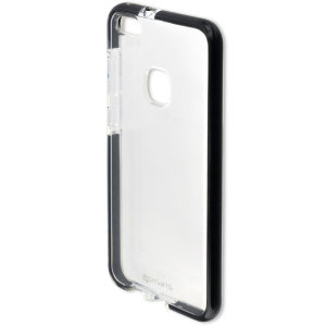Protect your Huawei P10 Lite with this unique bumper-style black and clear AIRY-SHIELD from 4smarts, featuring certified shock protection according to MIL-STD-810G 516.6.
