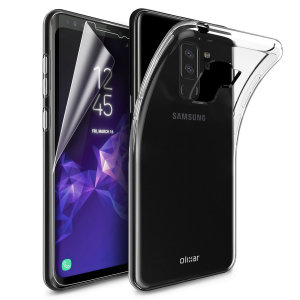 Guard your beautiful Samsung Galaxy S9 Plus from damage with the Olixar Total Protection Pack. Featuring an ultra-thin protective gel case and 2 ultra-responsive screen protectors, this pack provides the ultimate in lightweight protection.