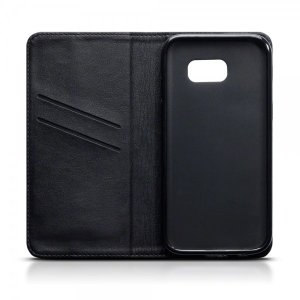 The genuine leather wallet case offers perfect protection for your Samsung Galaxy A5 2017. Featuring premium stitch finishing, as well as featuring slots for your cards, cash and documents.