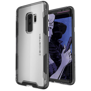 The Cloak 3 Protective case in black and clear from Ghostek provides your Samsung Galaxy S9 Plus with fantastic all round protection.
