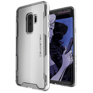 The Cloak 3 Protective case in silver and clear from Ghostek provides your Samsung Galaxy S9 Plus with fantastic all round protection.