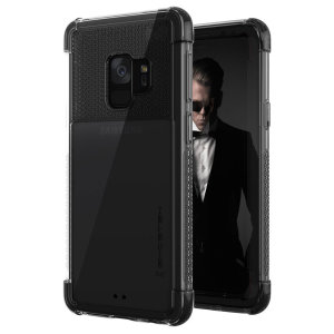 The Covert 2 protective bumper clear case with black corners from Ghostek provides your Samsung Galaxy S9 with fantastic protection, whilst highlighting its superb design. Reinforced corners and provide extra drop protection for such a slim case.