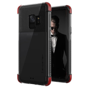 The Covert 2 protective bumper case in red from Ghostek provides your Samsung Galaxy S9 with fantastic protection, whilst highlighting its superb design. Reinforced corners and provide extra drop protection for such a slim case.