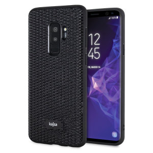 Form meets function in this elegant, understated yet undeniably indulgent case for the Samsung Galaxy S9 Plus. A diamond pattern adorns the back of this case, adding a shimmering grace, in black. With a luxurious vibe this case is perfect for everyday use