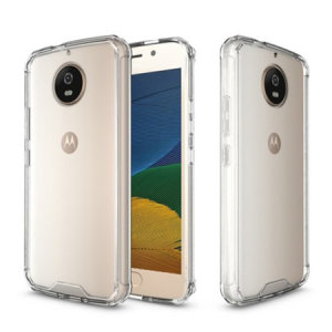 Custom moulded for the Motorola Moto G5S, this clear case provides slim fitting and durable protection against damage, whilst showing off the sleek design of the Moto G5S.