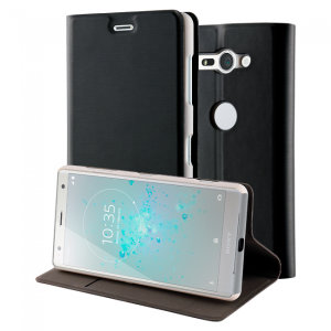 This officially licensed standing book case by Roxfit houses the Sony Xperia XZ2 Compact within a form fitting frame, which includes an ultra-high quality protective shell and a super-slim PU front flap. Also comes with a handy horizontal stand function.
