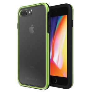 Protect your iPhone 8 Plus / 7 Plus with this all new LifeProof SLAM case in a stunning Night Flash color set. Experience a slim fitting design, a substantial protection from bumps and scratches, and an unobstructed access to all of the iPhone's features.