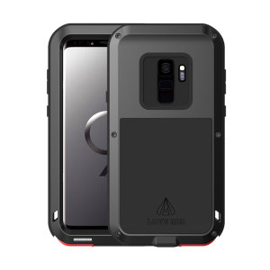 Protect your Samsung Galaxy S9 with one of the toughest and most protective cases on the market, ideal for helping to prevent possible damage from water and dust - this is the black Love Mei Powerful Protective Case.