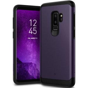 Bescherm je Samsung Galaxy S9 Plus met deze verbluffende stoere dubbellaagse gepantserde hoes. Gemaakt van robuust dual-layered maar slank materiaal, deze TPU body met een gladde buitenlaag heeft een aantrekkelijke tweekleurige finish.