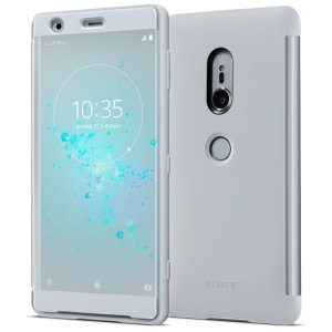 This official Style Cover Touch in Grey from Sony houses your Xperia XZ2, providing protection and full functionality through the see-through touchscreen font cover, allowing you to view and action incoming messages and calls.