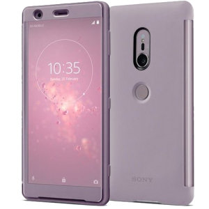 This official Style Cover Touch in pink from Sony houses your Xperia XZ2, providing protection and full functionality through the see-through touchscreen font cover, allowing you to view and action incoming messages and calls.