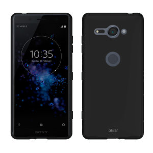 Custom moulded for the Sony Xperia XZ2 Compact, this solid black FlexiShield case by Olixar provides slim fitting and durable protection against damage.