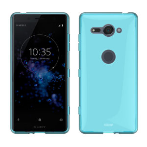 Custom moulded for the Sony Xperia XZ2 Compact, this blue FlexiShield case by Olixar provides slim fitting and durable protection against damage.