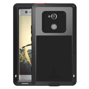 Protect your Sony Xperia XA2 with one of the toughest and most protective cases on the market, ideal for helping to prevent possible damage from water and dust - this is the black Love Mei Powerful Protective Case.