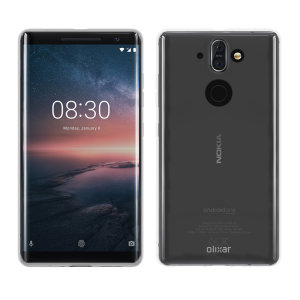 Fabriquée spécialement pour le Nokia 8 Sirocco, cette coque entièrement transparente modèle Ultra-Thin de chez Olixar est fine et résistante.