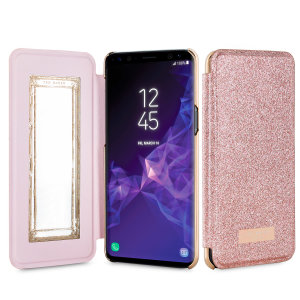 Ever wanted to check how you're looking on the go? With the Ted Baker Rose Gold Mirror Folio case for the Galaxy S9, you can do just that thanks to a concealed mirror on the inside of the case's flip cover. Stay stylish whilst keeping your S9 protected.
