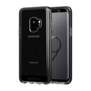 Tech21 Evo Check case for Samsung Galaxy S9 features three layers of ultimate protection against scratches, bumps and drops. Despite being ultra-thin and lightweight, the case protects your device from drops of up to 12ft (3.66m)!