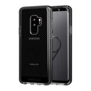 Tech21 Evo Check case for the new Samsung Galaxy S9 Plus features three layers of ultimate protection against scratches, bumps and drops. Despite being ultra-thin and lightweight, the case protects your device from drops of up to 12ft (3.66m).