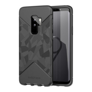 Tech21 Evo Tactical case for Samsung Galaxy S9 Plus features three layers of ultimate protection against scratches, bumps and drops. A super tactile and grippy texture paired with an impressive drop protection of up to 12 feet are all you need.