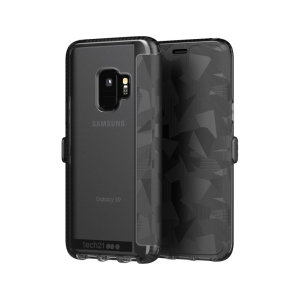 The Evo Wallet case by Tech21 carefully surrounds your Galaxy S9 with a slim-fitting see-through back case and a tactile, abstract-patterned folio cover. Evo Wallet case comes with 2 concealed slots for your debit, credit or personal ID cards.
