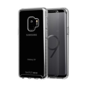 Tech21 Pure Clear case allows you to flaunt the natural beauty of your Samsung Galaxy S9, whilst keeping it well protected from scratches, bumps and drops of up to 10ft. It also offers an ulta-thin and lightweight design, which looks good in any setting.