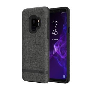 Protect your Samsung Galaxy S9 with this slim fitting and smooth touch Esquire Series Carnaby case from Incipio. Featuring a premium grey fabric with a contrasting dark TPU frame, this case matches the beauty of your new Galaxy S9 perfectly.