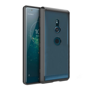 Custom moulded for the Sony Xperia XZ2, this black and clear Olixar ExoShield tough case provides a slim fitting, stylish design and reinforced corner protection against shock damage, keeping your device looking great at all times.