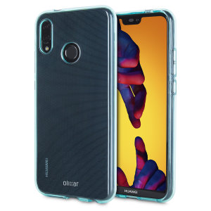 Custom moulded for the Huawei P20 Lite, this blue Olixar FlexiShield case provides slim fitting and durable protection against damage.