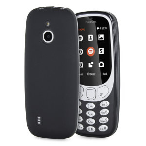 Custom moulded for the Nokia 3310 3G (2017), this FlexiShield gel case in black provides excellent protection against damage, as well as a slimline fit for added convenience.