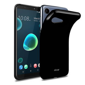 Custom moulded for the HTC Desire 12, this Solid Black FlexiShield case from Olixar provides a slim fitting and durable protection against damage, with an alluring jet black appearance.