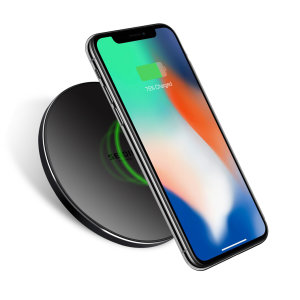 Enjoy the cable-free convenience of fast wireless charging on the move for your compatible smartphone with this compact, lightweight Qi fast wireless charging pad from Seidio.
