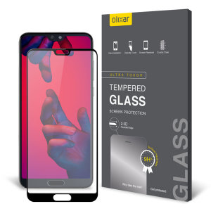 This ultra-thin tempered glass screen protector for the Huawei P20 Pro from Olixar offers toughness, high visibility and sensitivity all in one package.