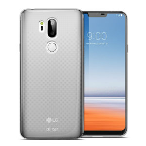 Custom moulded for the LG G7 ThinQ, this 100% clear Ultra-Thin case by Olixar provides slim fitting and durable protection against damage.