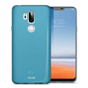 Custom moulded for the LG G7 ThinQ, this blue FlexiShield case by Olixar provides slim-fitting and durable lightweight protection against damage. Fits easily in your pocket or bag. A convenient case for everyday use.