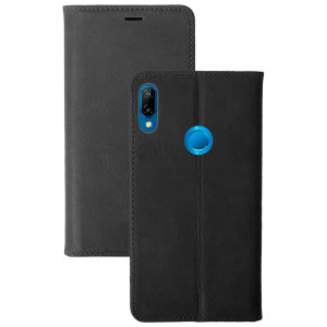 Krusell's 2 Card Sunne Wallet cover in vintage black combines Nordic chic with Krusell's values of sustainable manufacturing for the socially-aware Huawei P20 Lite owner who wants an elegant genuine leather accessory with extra storage for cash and cards.