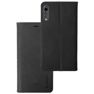 Krusell's 4 Card Sunne Folio Wallet leather case in black combines Nordic chic with Krusell's values of sustainable manufacturing for the socially-aware Huawei P20 Pro owner who seeks 360° protection with extra storage for cash and cards.