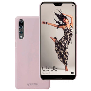 The Krusell Nora Slim Soft Shell case for the Huawei P20 Pro in dusty pink combines a slim, ergonomic design with excellent shock absorption to provide all the protection your phone needs.