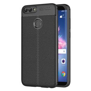 Offre à votre Huawei P Smart un style encore plus élégant à l'aide de la coque ultra-mince simili cuir en coloris noir. Flexible et dotée d'une finition lisse simili cuir, elle offre une protection longue durée à votre Huawei P Smart. Le style et la classe sont les maîtres mots avec cette coque.