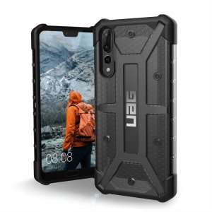 The Urban Armour Gear Plasma semi-transparent tough case in Ash grey and black for the Huawei P20 Pro features a protective case with a brushed metal UAG logo insert for an amazing rugged and stylish design.