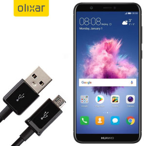 This 1 meter data / charging cable from Olixar allows you to connect your Huawei P Smart to a PC via Micro USB. It supports charging currents over 2 amps, so your Huawei P Smart can be up and running from flat in no time.