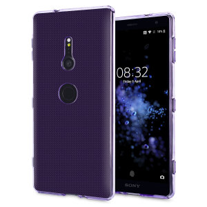 Custom moulded for the Sony Xperia XZ2, this purple Olixar FlexiShield case provides a slim fitting stylish design and durable protection against damage, keeping your device looking great at all times.