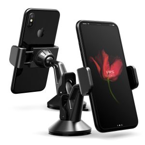 Place your phone or other device on the car windscreen or dashboard with the stylish Verus Hybrid Grab Mini in-car mount in metal black. A secure fit, universal compatibility and fully posable positioning means this is a complete mounting solution.