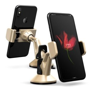 Place your phone or other device on the car windscreen or dashboard with the stylish Verus Hybrid Grab Mini in-car mount in gold. A secure fit, universal compatibility and fully posable positioning means this is a complete mounting solution.