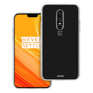 Custom moulded for the OnePlus 6, this 100% transparent FlexiShield case from Olixar provides a slim fitting and durable protection against damage, with an alluring jet black appearance.