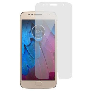 Protégez et maintenez l'écran de votre Motorola Moto G5S en parfait état grâce à la protection d'écran anti-rayures. Il s'agit d'un pack comprenant 2 protecteurs souples destinés à protéger l'écran de votre Motorola Moto G5S.