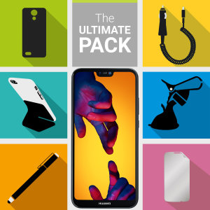 The Ultimate Pack for the Huawei P20 Lite consists of fantastic must have accessories designed specifically for the P20 Lite.
