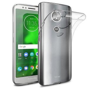 Fabricada con un gel de alta calidad, y totalmente transparente, la funda Olixar Ultra-Thin protegerá de arañazos y golpes su Motorola Moto G6 Play y le ayudará a mantenerlo prácticamente como el primer día