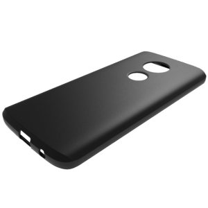 Custom moulded for the Motorola Moto G6 Play, this solid black Olixar FlexiShield case provides slim fitting and durable protection against damage.