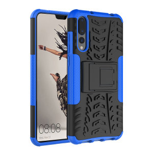 Protect your Huawei P20 Pro from bumps and scrapes with this blue ArmourDillo case. Comprised of an inner TPU case and an outer impact-resistant exoskeleton, the ArmourDillo provides robust protection and supreme styling.